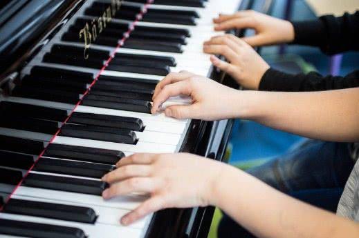 Koncert uczniów klasy fortepianu